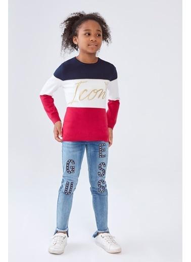 Guess Kız Çocuk Jean Pantolon Mavi